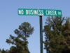 no-business-creek-rd-sign