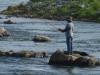 Dam-fishing